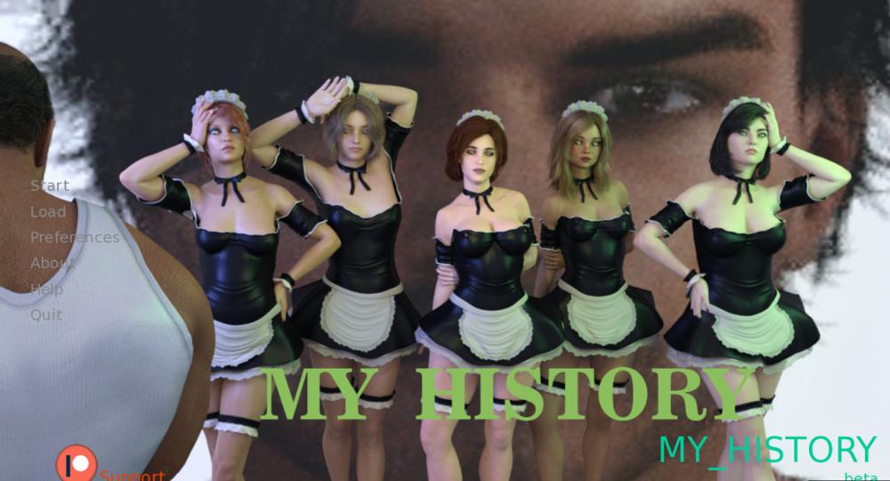 My History - Version 0.002 - Update
