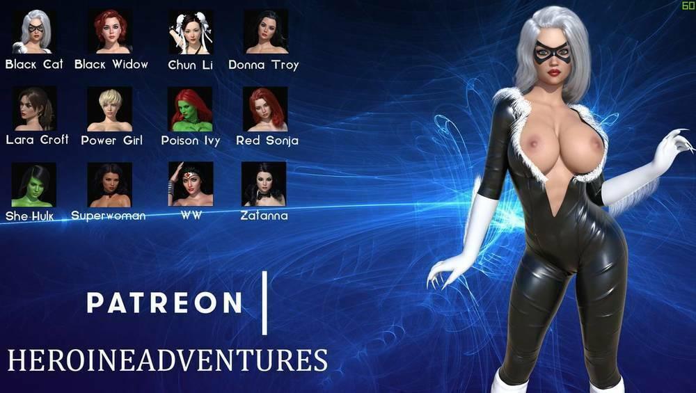 HeroineAdventures The Game - Version 0.3.1