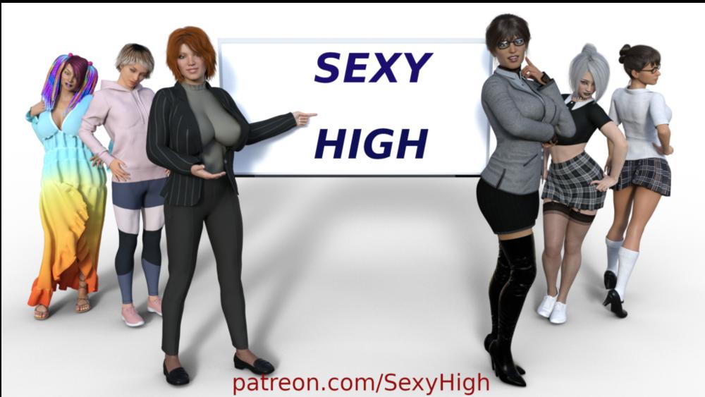 Sexy High - Version 0.3 - Update