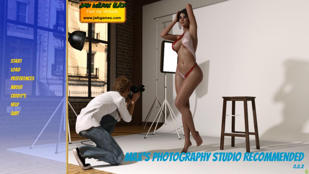 Max's Photography Studio - Version 0.0.2